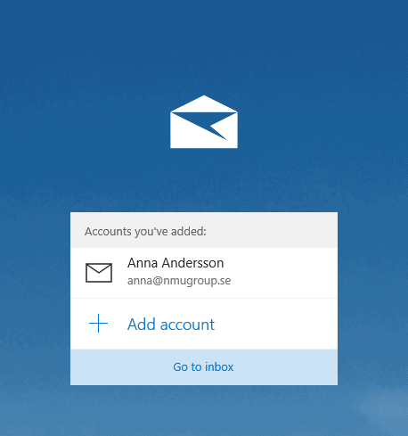 Windows 10 mail